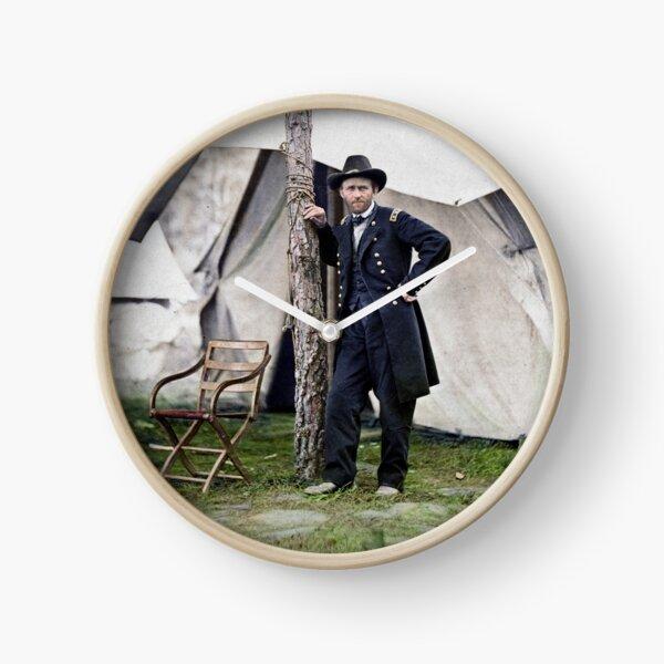 Ulysses S. Grant, général de la guerre civile et 18e président des États-Unis Horloge