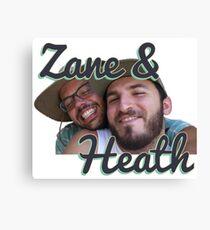 Zane and Heath Canvas Print