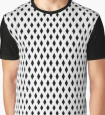 Imitation Net Graphic T-Shirt