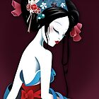 White Geisha Sasuke Mononoke by DesignDinamique