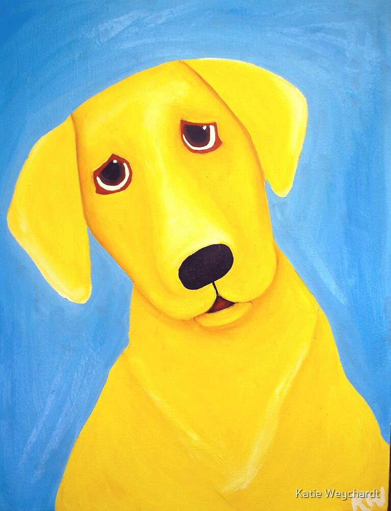 Yellow Labrador by Katie Weychardt