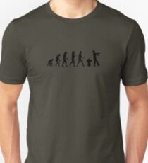the real human evolution T-Shirt