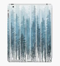Grunge Dripping Turquoise Misty Forest iPad Case/Skin