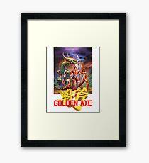 Golden Axe - Sega Framed Print