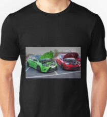 Green and Red Focus T-Shirt