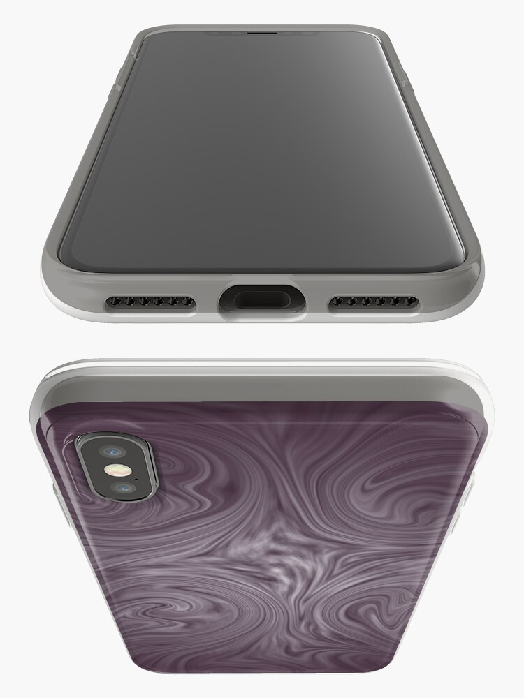 Alternate view of dusky purple iPhone Case & Cover