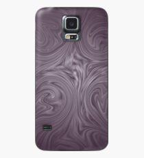 düster lila Hülle & Klebefolie für Samsung Galaxy