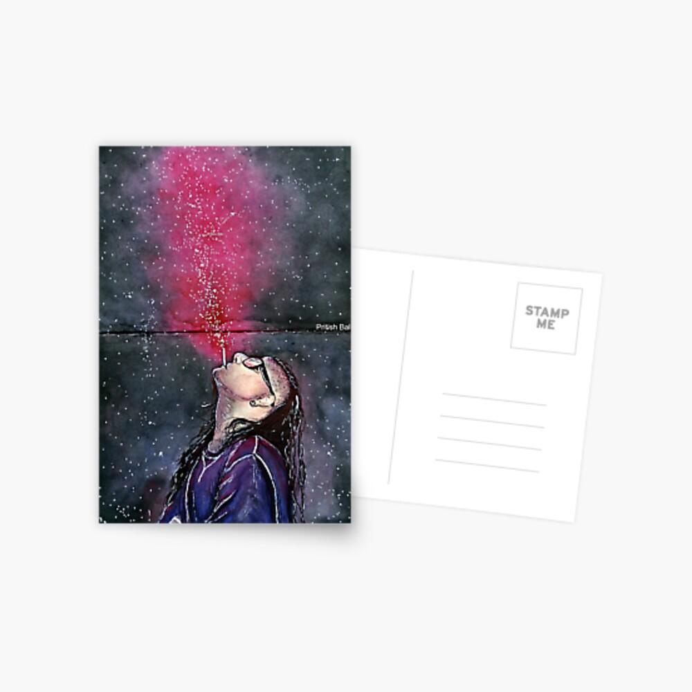 Skrillex Postkarte