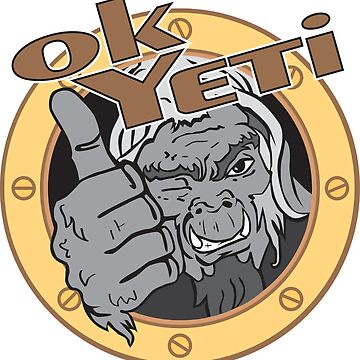 OK Yeti Official Logo by robyeti