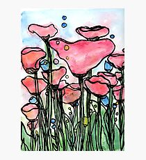flowerbed Photographic Print