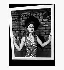 2d pinup Photographic Print