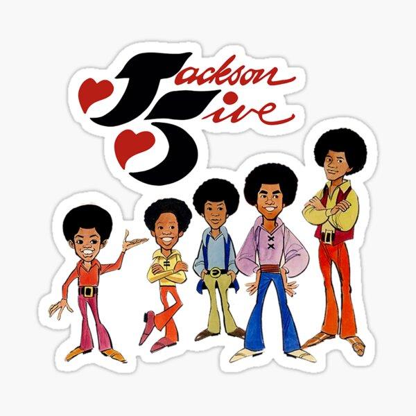 Jackson Five T-shirt Sticker