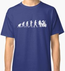 Funny Drummer Evolution T-Shirt - Awesome Band Tee Classic T-Shirt