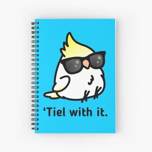 Tiel with it Spiral Notebook
