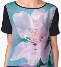 Peach Blossoms 13 Chiffon Top