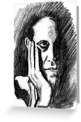 Pondering Man by Hoffard