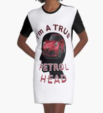 Petrolhead Graphic T-Shirt Dress