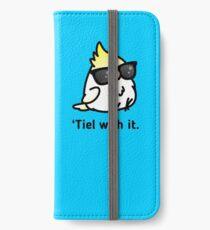 Tiel with it iPhone Wallet/Case/Skin