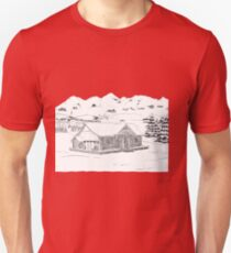 Winter Lodge Unisex T-Shirt