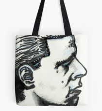 Profile of Man Tote Bag