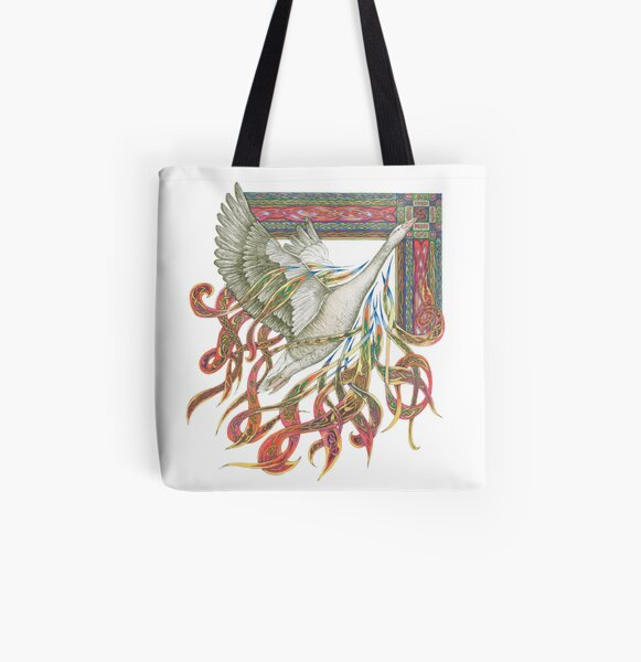 Wild Goose All Over Print Tote Bag