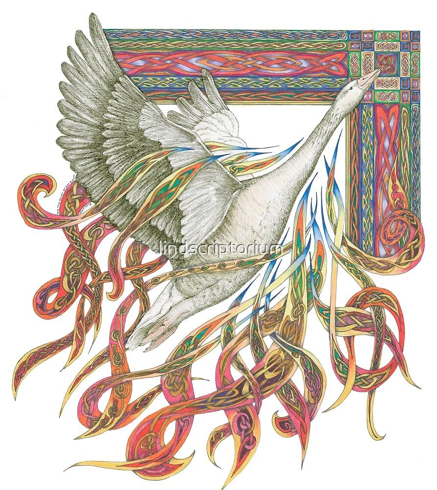 Wild Goose by lindscriptorium
