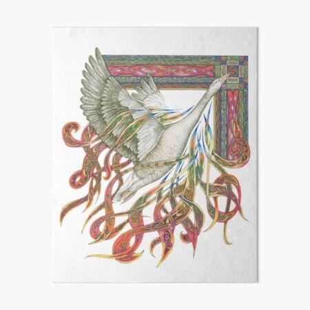 Wild Goose Art Board Print