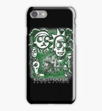 The Rickshank Redemption iPhone Case/Skin