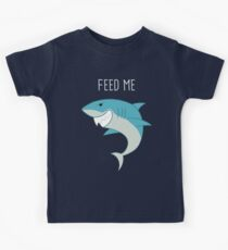 Feed Me Shark Kids Tee