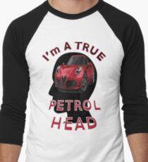 Petrolhead Men's Baseball ¾ T-Shirt