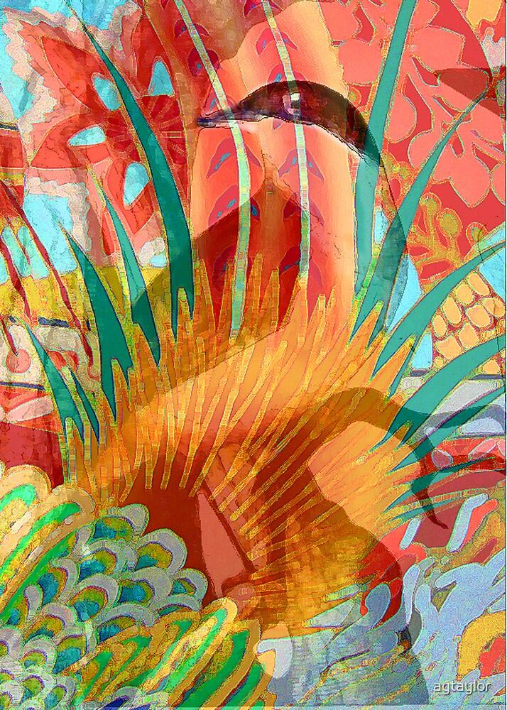 Kimono Bird by agtaylor