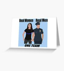 One Team: Law Enforcement Greeting Card
