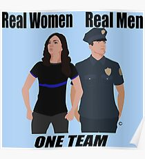One Team: Law Enforcement Poster