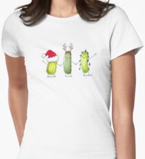 Happy Holi-Dills! Women's Fitted T-Shirt