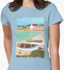 Hebridean Bay 2 Womens Fitted T-Shirt