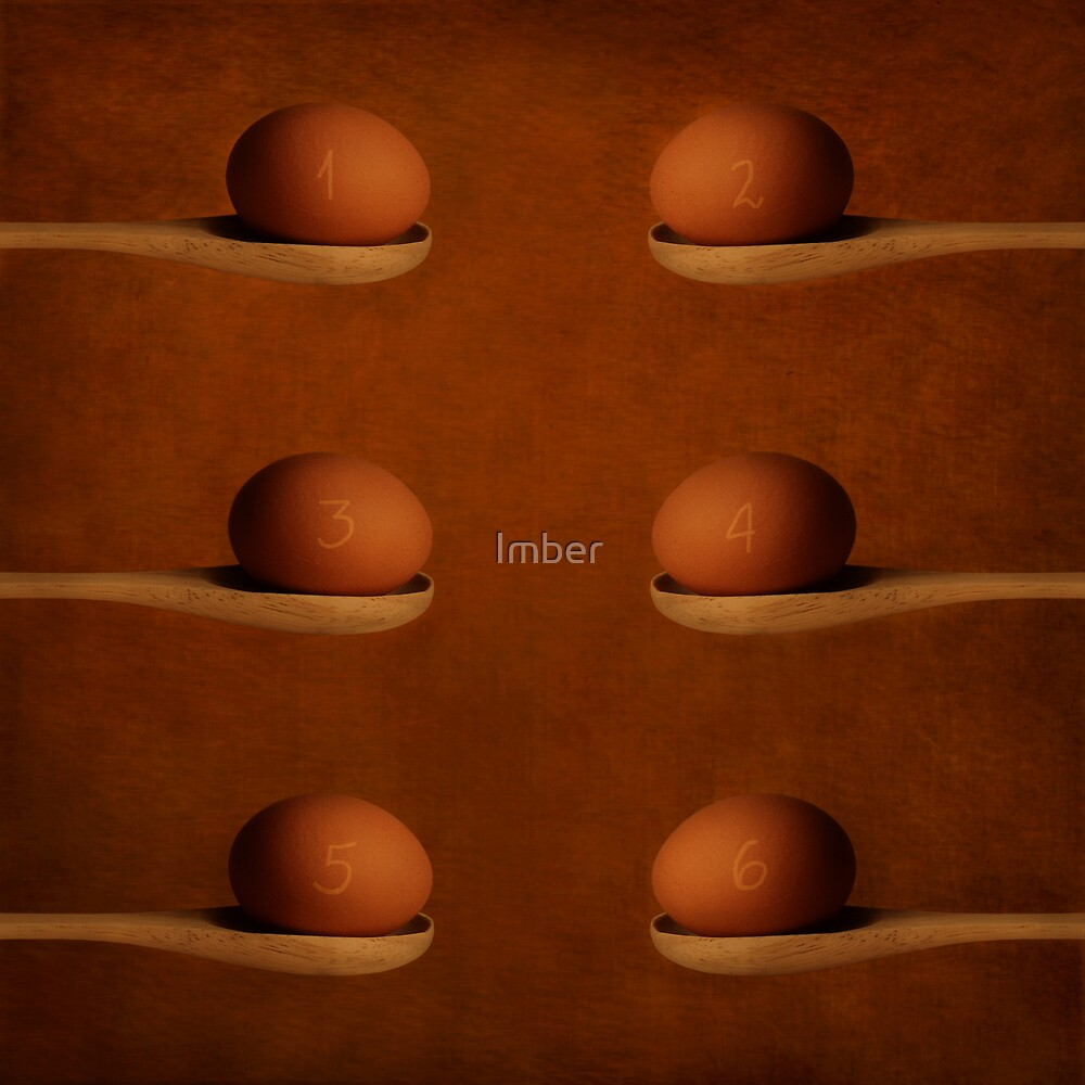 Six eggs omelett by Imber