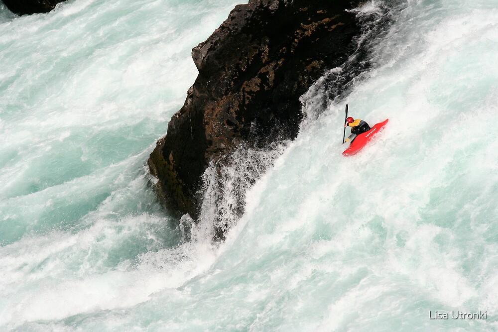 Rio Futaleufu-Chile by Lisa Utronki