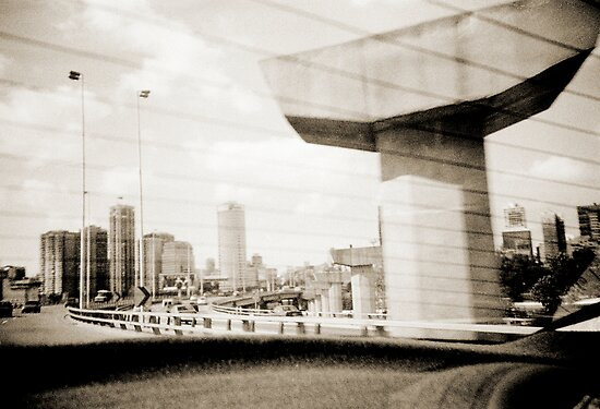 Taxi  Ride Lomo Argentina by Juilee  Pryor