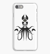 Ghost Squid (white) iPhone Case/Skin