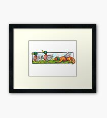 We're going on a Duck Hunt Framed Print