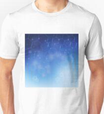 Molecules background Unisex T-Shirt