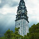 Cardiff City Hall Tower Clock by Yannik Hay
