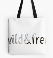 wild&free Tote Bag