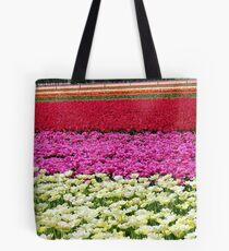 Vivid Streaks - Tulip Plantation - Southland Tote Bag