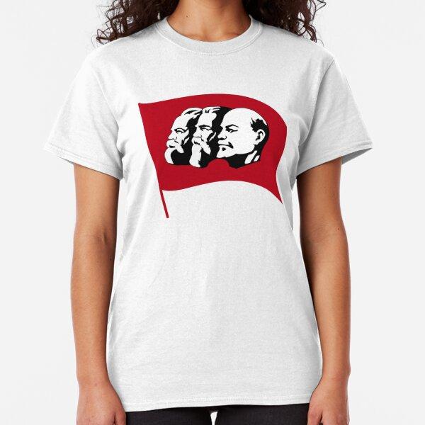 Hommes Femmes T Shirt politique Aile Gauche socialiste Le capitalisme est le cannibalisme