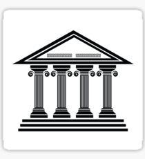 ancient columns Sticker