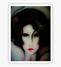 Dark Deco Dolly Jacqueline Mcculloch House of Harlequin Sticker