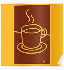 Coffee Cup - Hand Drawn Goodness Poster