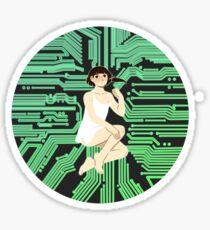 Wired Sticker