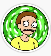 Morty Smith Sticker